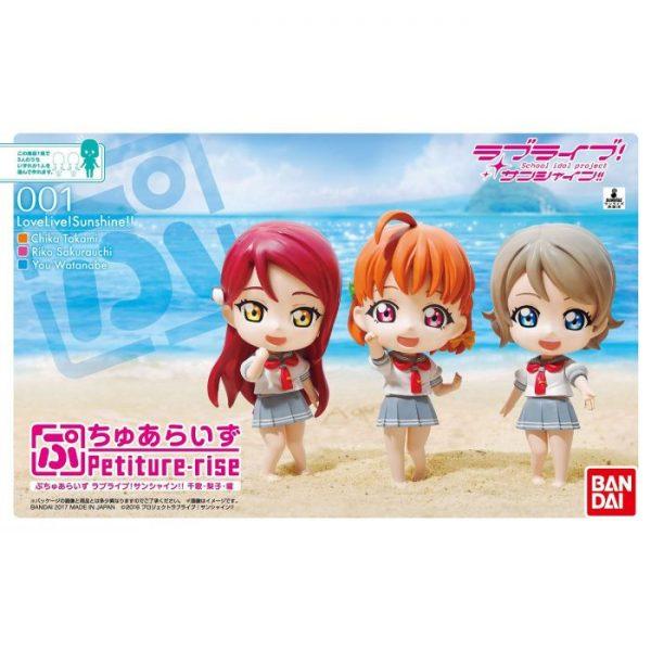 Petiture-rise Love Live! Sunshine !! Chika, Riko, You