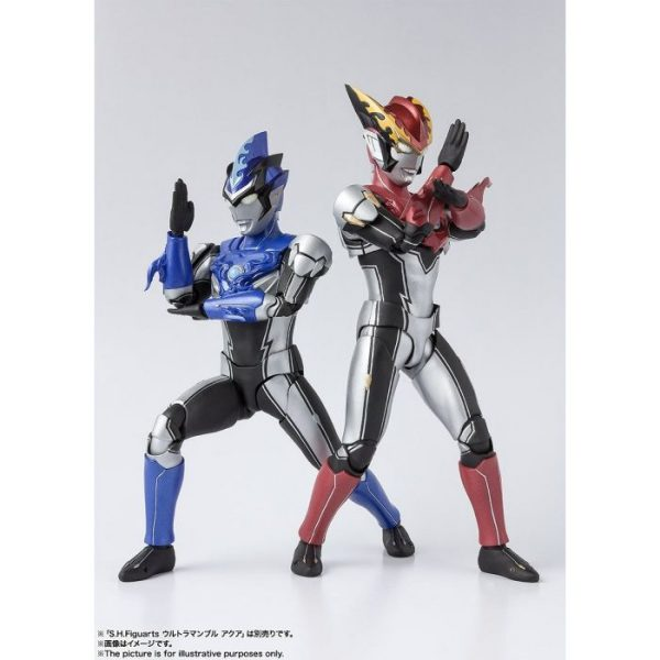 S.H.Figuarts Ultraman Rosso Flame