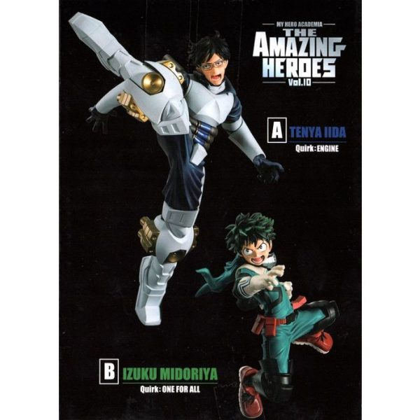My Hero Academia The Amazing Heroes Vol.10 A Tenya Iida