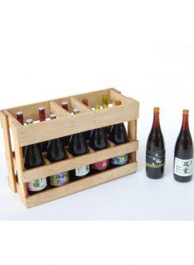 1/12 1 Sho Bottle & Wooden Box