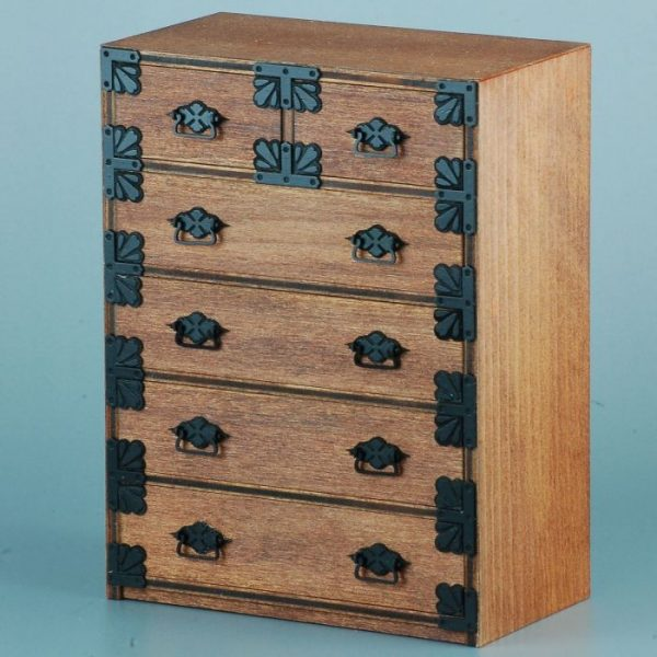 1/12 Japanese Chest of Drawers