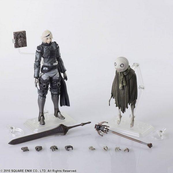 Nier Replicant: Bring Arts NieR & Emil