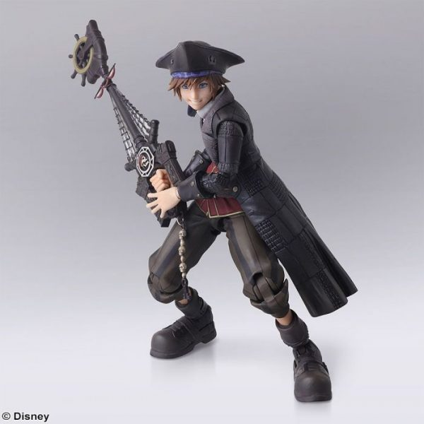 Kingdom Hearts III BRING ARTS Sora Pirates of the Caribbean Ver.