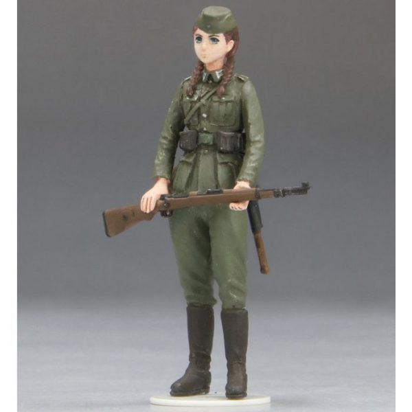 1/35 Rekiso Otome: Hannah w/3.7cm FlaK 37