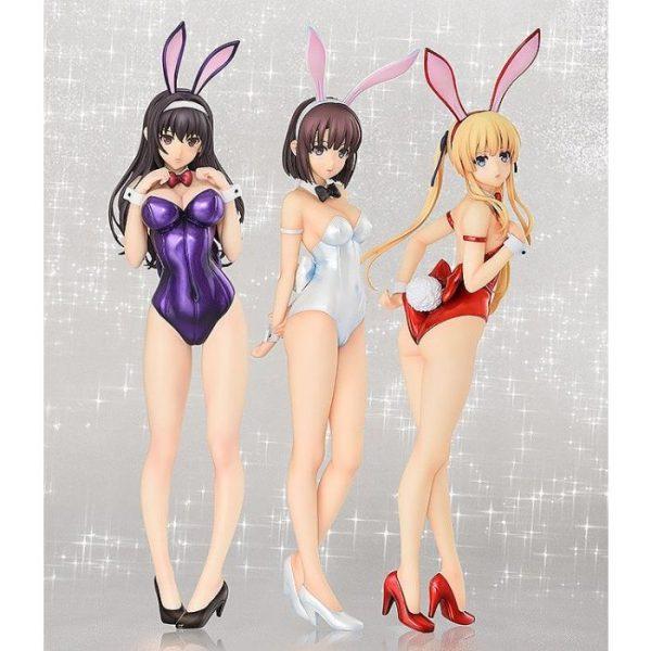 1/4 Saekano How to Raise a Boring Girlfriend Flat: Eriri Spencer Sawamura Bare Leg Bunny Ver. PVC