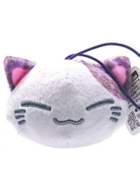 Nemuneko Leopard Pattern Mascot D Purple