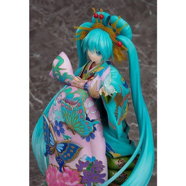 1/7 Hatsune Miku Chokabuki Kuruwa Kotoba Awase Kagami Ver. PVC