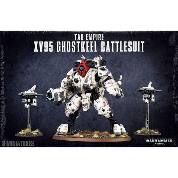 Warhammer Tau Empire XV95 Ghostkeel Battlesuit