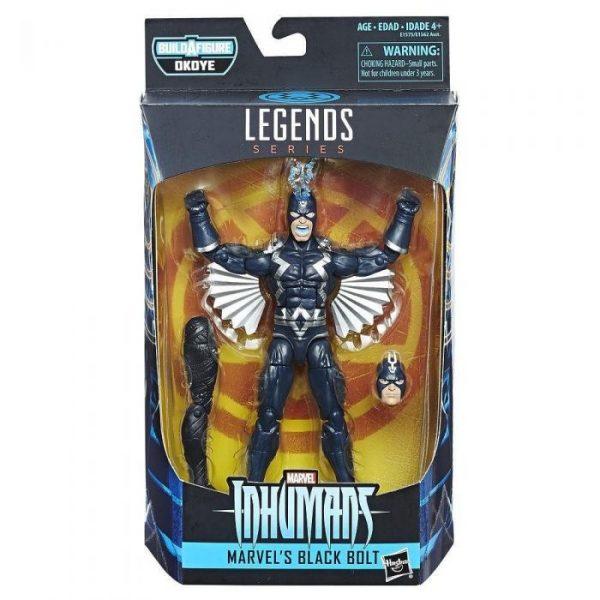 Marvel - Hasbro Action Figure: 6 Inch: Legends - Black Panther Series 1.0: #04 Black Bolt