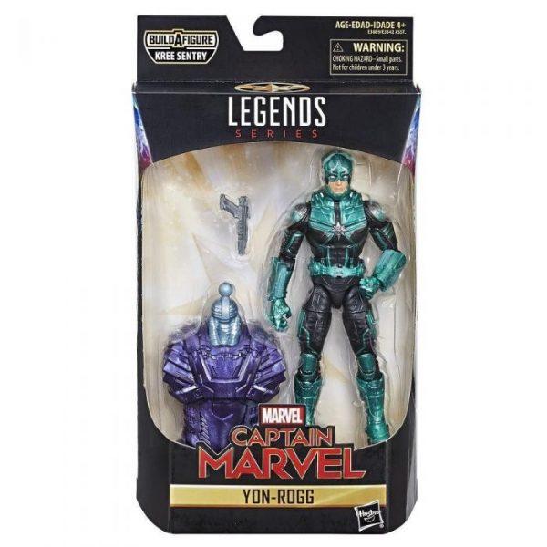 Marvel - Hasbro Action Figure: 6 Inch: Legends - Captain Marvel Series 1.0: #04 Yon-Rogg