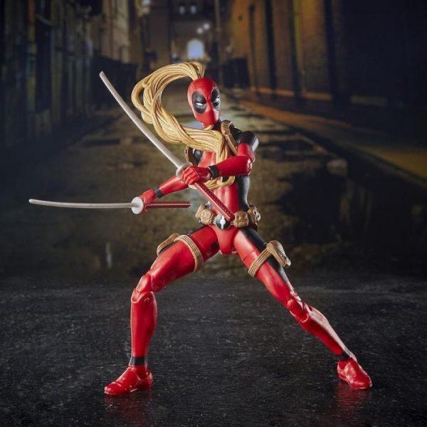 Marvel - Hasbro Action Figure: 6 Inch: Legends - Deadpool Series 2.0: #03 Lady Deadpool