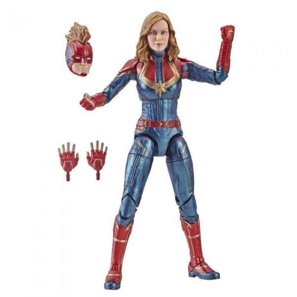 Marvel - Hasbro Action Figure: 6 Inch: Legends - Captain Marvel Series 1.0: #01 Captain Marvel