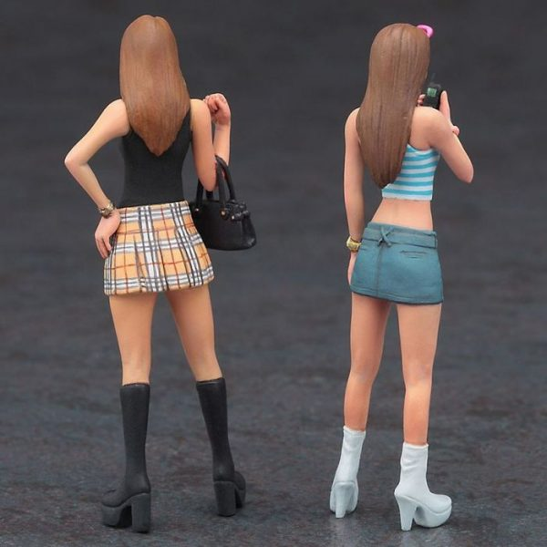 1/24 90's Platform Shoes Gyaru Figure