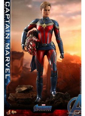 1/6 Movie Masterpiece Fully Poseable Figure: Avengers: Endgame Captain Marvel