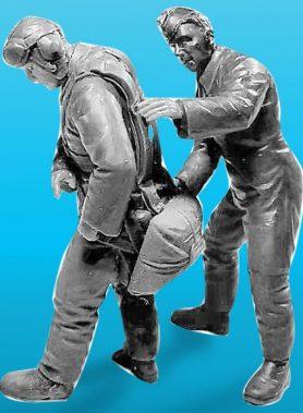 1/32 Luftwaffe Officer Cadet Set