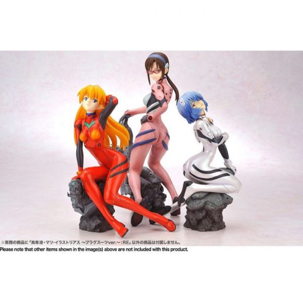 1/6 Rebuild of Evangelion: Mari Illustrious Makinami -Plugsuit ver.-:RE PVC