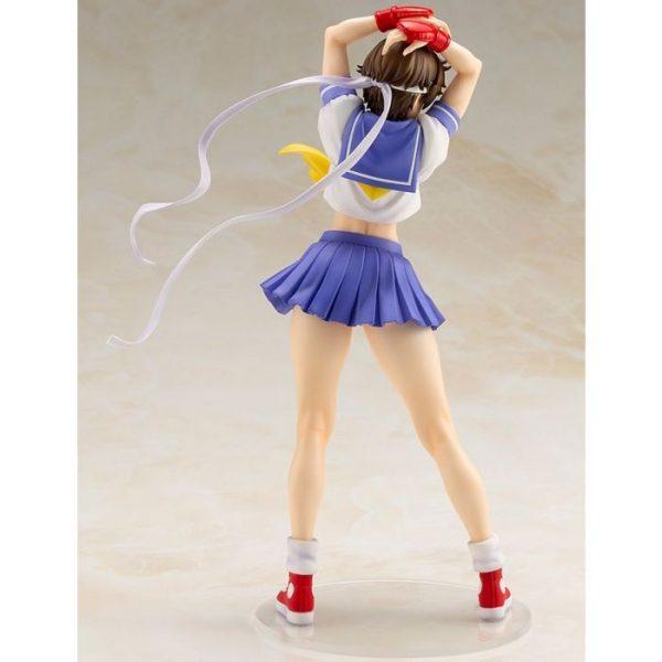 1/7 Street Fighter Bishoujo: Sakura -Round 2- PVC