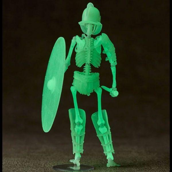 Takeya Shiki Jizai Okimono Gladiator Secutor Grow in the Dark Ver.