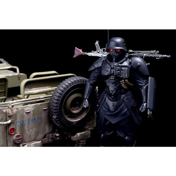 1/20 PLAMAX MF-35: minimum factory PROTECT GEAR with Special Investigations Unit Patrol Vehicle