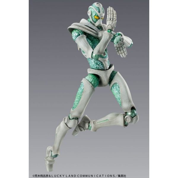 Super Action Statue: Hierophant Green