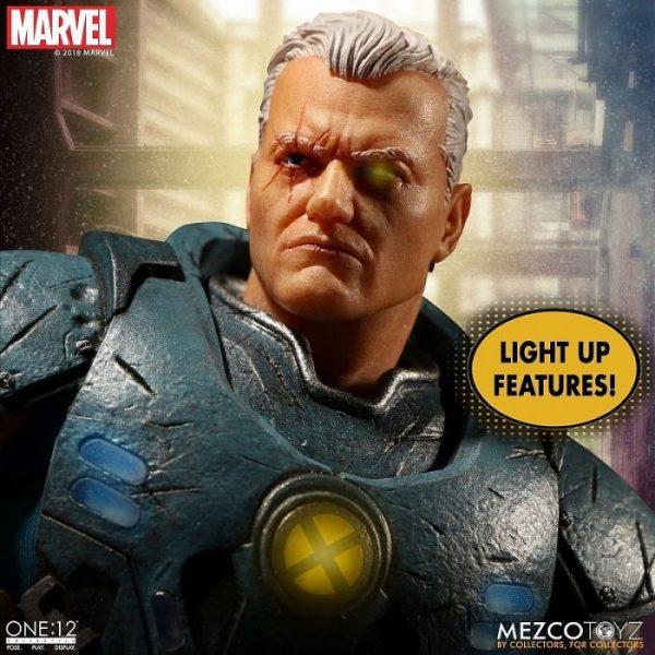 1/12 One:12 Collective Marvel Universe: Cable Action Figure