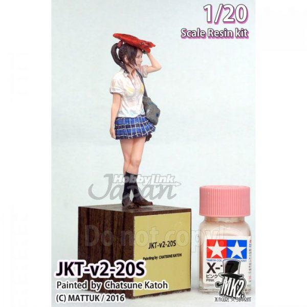 1/20 JKT-V2-20S Japanese Kawaii High School Girl