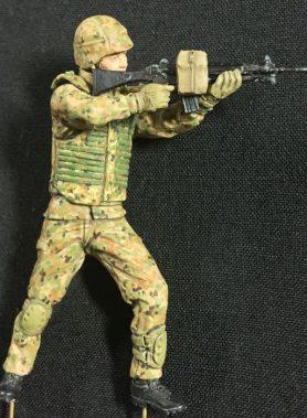 1/35 JGSDF Infantry Regiment Soldier The Standing Position