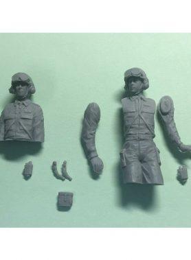 1/35 JGSDF Armoured Soldiers Set 1
