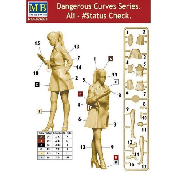 1/24 Dangerous Curves Series: Ali #Status Check
