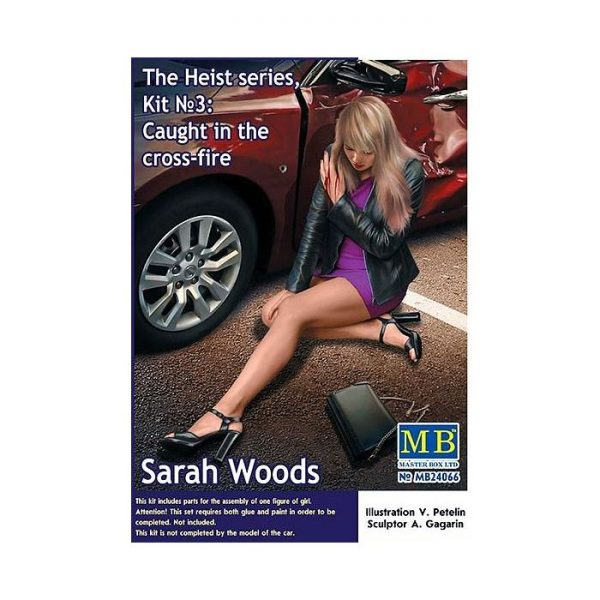 1/24 The Heist Series, Kit No.3 Caught in the Cross-Fire. Sarah Woods