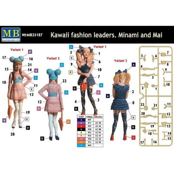 1/35 Kawaii Fashion Leaders, Minami and Mai