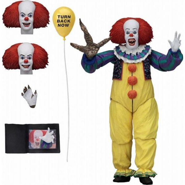 It: Pennywise Ultimate 7 Inch Action Figure Ver.2