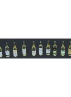 1/12 Wine Bottle Clear