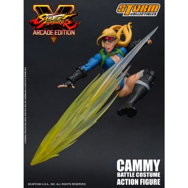 Street Fighter: V Action Figure Cammy Battle Costume