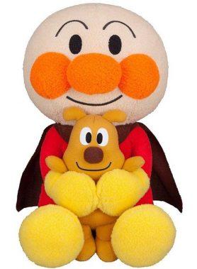 Anpanman Favorite Hugging Plush Toy Anpanman and Cheese Plush Toy