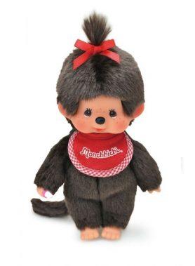 Monchhichi Premium Standard Brown S Girl