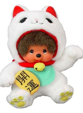 Maneki-Neko Monchhichi S-size