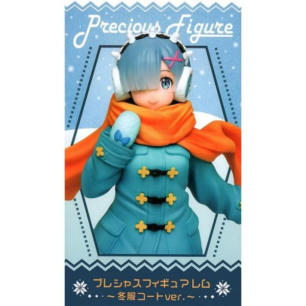 Re:Zero - Starting Life in Another World: Precious Figure Rem -Winter Clothes Coat Ver.-