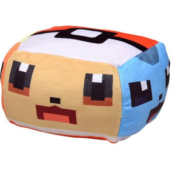 Pokemon Quest Poxel Cushion Plush Toy Eevee & Friends