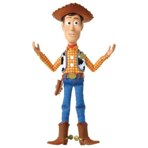 Toy Story 4 Real Size Talking Figure Woody