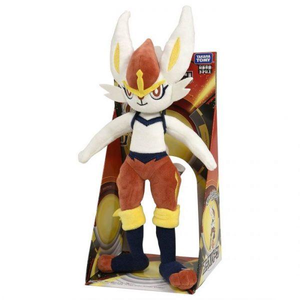 Pokemon Plush Toy 04 Cinderace