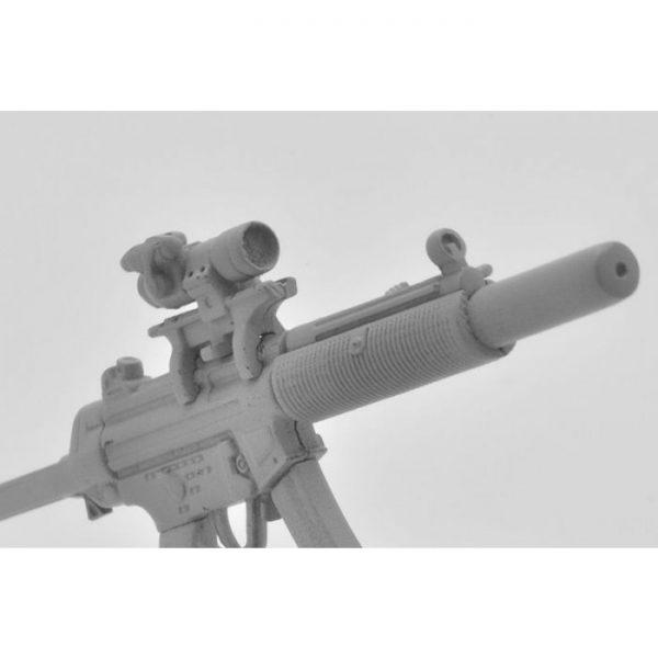 1/12 Little Armory LA026 MP5SD6 Type