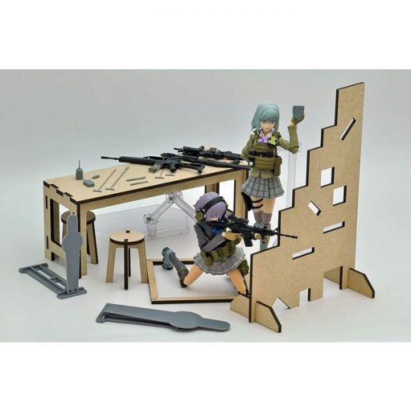 1/12 Little Armory [LD015] Shooting Range B