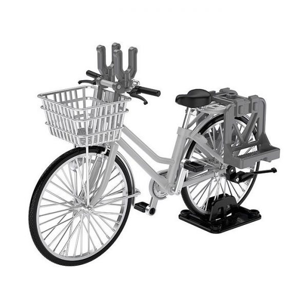 1/12 Little Armory  Bicycle for School Attendance  Silver