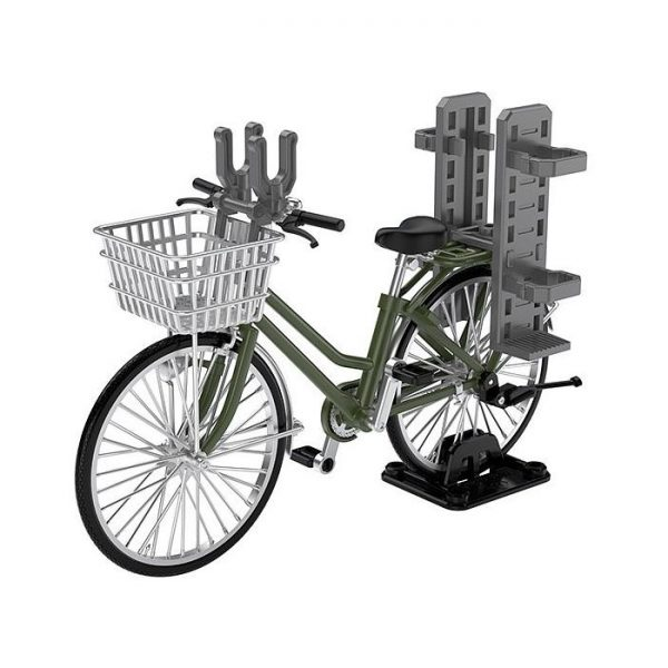 1/12 Little Armory  Bicycle for School Attendance  Olive Drab