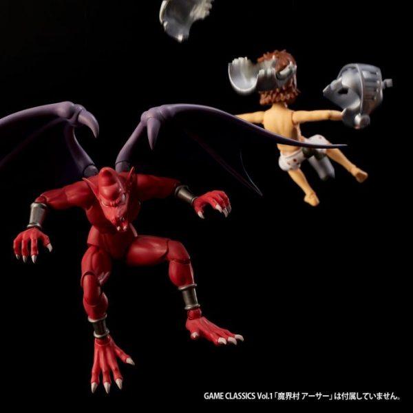 Game Classics Vol.3 Ghosts'n Goblins Red Arremer PVC