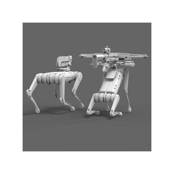 1/20 Gears in Action: Object Series 2  -- Quadruped Robots