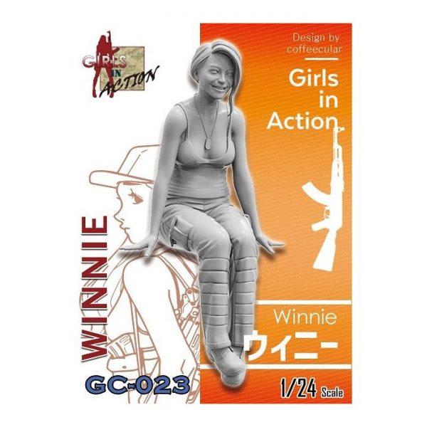 1/24 Girls in Action: Winnie