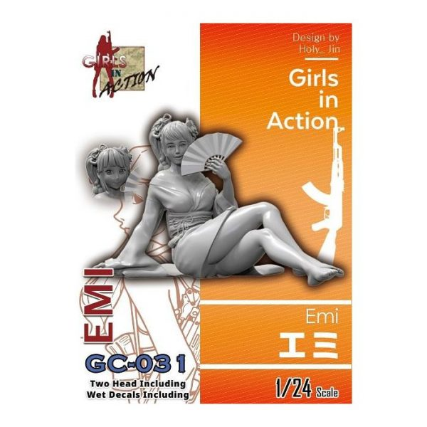1/24 Girls in Action: Emi