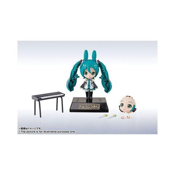 Chogokin Miracle Henkei Miku Hatsune x Rody